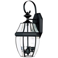 Maxim Lighting South Park 3 Light Outdoor Wall Mount in Black 4191CLBK