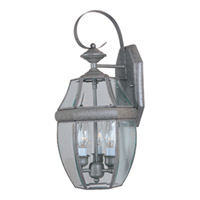 Maxim Lighting South Park 3 Light Outdoor Wall Mount in Pewter 4191CLPE
