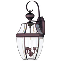 Maxim Lighting South Park 3 Light Outdoor Wall Mount in Burnished 4192CLBU