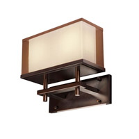 Maxim Lighting Hennesy 2 Light Wall Sconce in Oil Rubbed Bronze 43441CSOI