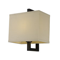 Maxim Lighting Baldwin 1 Light Wall Sconce in Dark Bronze 43551LNDBZ