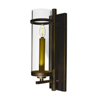 Maxim 43741CLGB Midtown Led LED 5 inch Gold Bronze Wall Sconce Wall Light