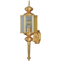 Maxim 4623CLBP Maxim 1 Light 24 inch Brushed Pewter Outdoor Wall Mount