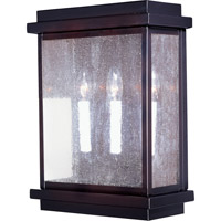 Cubes 3 Light 16 inch Burnished Outdoor Wall Mount