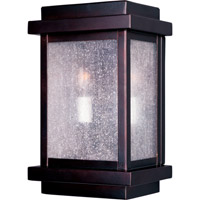Maxim 4651CDBU Cubes 2 Light 11 inch Burnished Outdoor Wall Mount