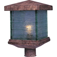 Triumph VX 1 Light 15 inch Earth Tone Outdoor Pole/Post Lantern