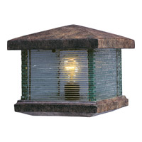 Maxim 48736CLET Triumph VX 10 inch 60 watt Earth Tone Outdoor Deck Lantern photo thumbnail