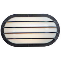 Maxim 51110FTBK Bulwark LED 6 inch Black Outdoor Wall Mount