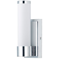 Maxim 52111WTPC Optic LED 5 inch Polished Chrome Bath Vanity Wall Light