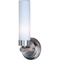 Maxim Lighting Cilandro 1 Light Wall Sconce in Satin Nickel 53006WTSN