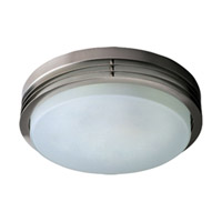 Maxim Lighting Louver Flush Mount in Satin Nickel 53020FTSN photo thumbnail