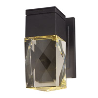 Holmby Hills LED 10 inch Texture Ebony Outdoor Wall Lantern