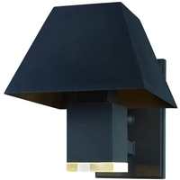 Maxim Bronze Acrylic Outdoor Wall Lights