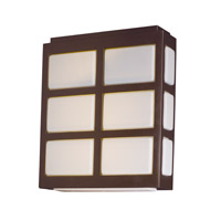 Packs LED 10 inch Metallic Bronze Outdoor Wall Lantern