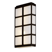 Maxim 53594WTMB Packs LED 20 inch Metallic Bronze Outdoor Wall Lantern