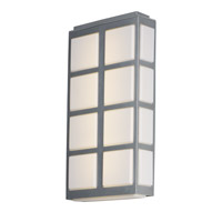 Packs LED 20 inch Metallic Silver Outdoor Wall Lantern