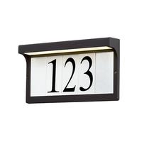 Maxim 53610BZ Address Bronze Address Light Frame