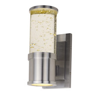 Pillar LED 11 inch Brushed Aluminum Outdoor Wall Light