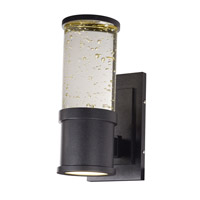 Maxim Lighting Pillar 2 Light Outdoor Wall Light in Galaxy Black 53685CLGBK