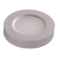 CounterMax 3 inch Brushed Aluminum Under Cabinet Disc