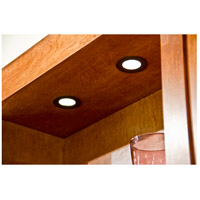 Maxim Lighting CounterMax MX-LD-D 1 Light Under Cabinet Disc in Anodized Bronze 53860BRZ