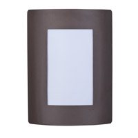View Energy Efficient 1 Light 8 inch Bronze Wall Sconce Wall Light