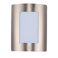 Maxim 54322WTSST View Energy Efficient 1 Light 8 inch Stainless Steel Wall Sconce Wall Light