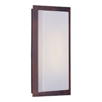 Maxim Lighting Beam Energy Efficient 1 Light Outdoor Wall Mount in Oil Rubbed Bronze 54340WTOI