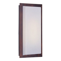 Maxim Lighting Beam Energy Efficient 1 Light Outdoor Wall Mount in Oil Rubbed Bronze 54341WTOI