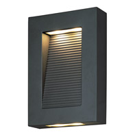 Avenue 1 Light 10 inch Architectural Bronze Outdoor Wall Mount