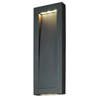 Avenue 1 Light 22 inch Architectural Bronze Outdoor Wall Mount