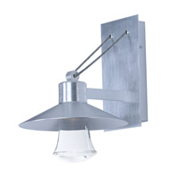 Civic LED 11 inch Brushed Aluminum Outdoor Wall Sconce