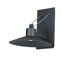 Civic LED 8 inch Architectural Bronze Outdoor Wall Mount