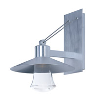 Civic LED 17 inch Brushed Aluminum Outdoor Wall Sconce