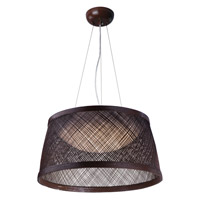 Maxim 54374CH Bahama LED 20 inch Chocolate Single Pendant Ceiling Light