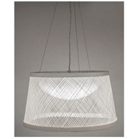 Maxim 54374WT Bahama LED 20 inch White Single Pendant Ceiling Light alternative photo thumbnail