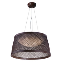 Maxim 54376CH Bahama LED 24 inch Chocolate Single Pendant Ceiling Light