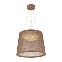 Bahama LED 24 inch Natural Single Pendant Ceiling Light