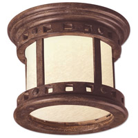 Maxim Lighting Santa Barbara LED 1 Light Outdoor Ceiling Mount in Sienna 55030MOSE