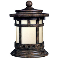 Santa Barbara LED 13 inch 7 watt Sienna Outdoor Deck Lantern