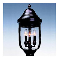 Maxim Lighting Signature 3 Light Outdoor Pole/Post Lantern in Empire Bronze 5512CDEB