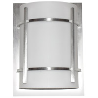 Maxim 55215WTBM Luna LED LED 12 inch Brushed Metal Outdoor Wall Mount