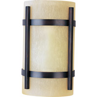 Maxim Lighting Luna LED 1 Light Outdoor Wall Mount in Oil Rubbed Bronze 55218WSOI