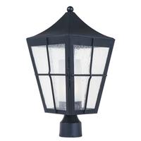 Maxim 55330CDFTBK Revere LED E26 LED 19 inch Black Outdoor Pole/Post Mount
