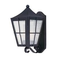 Maxim 55332CDFTBK Revere LED E26 LED 15 inch Black Outdoor Wall Mount