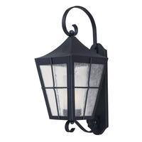 Maxim 55334CDFTBK Revere LED E26 LED 24 inch Black Outdoor Wall Mount