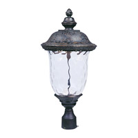 Carriage House LED LED 27 inch Oriental Bronze Outdoor Pole/Post Mount