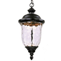 Maxim Carriage House LED 1 Light Outdoor Hanging Lantern in Oriental Bronze 55427WGOB