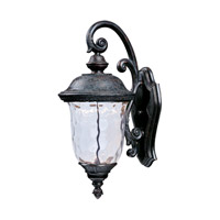 Maxim Lighting Carriage House LED 1 Light Outdoor Wall Mount in Oriental Bronze 55496WGOB