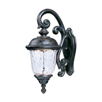 Maxim Lighting Carriage House LED 1 Light Outdoor Wall Mount in Oriental Bronze 55497WGOB